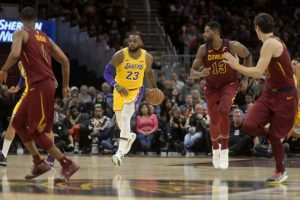 Nhận định Cleveland Cavaliers vs Los Angeles Lakers, 26/1, NBA